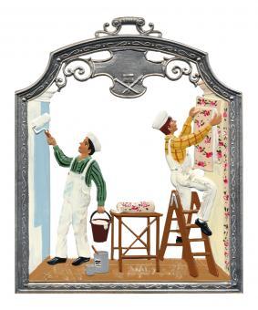 Ornament: Painter