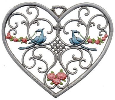 Herz, groß, Vögel
