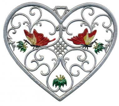 Ornament: Heart with Butterflys