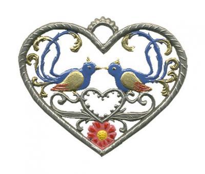 Herz, klein, Vögel