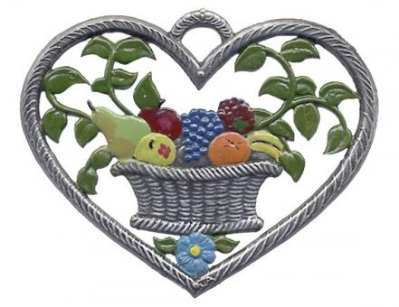 Herz, klein, Obstkorb