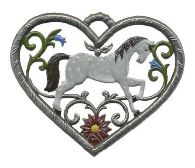 Herz, klein, Pferd