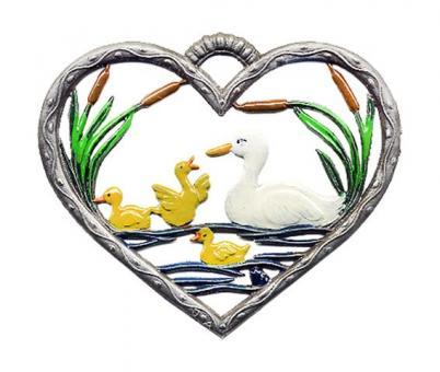Herz, klein, Enten