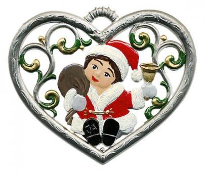 Herz, klein, Engel als Nikolaus