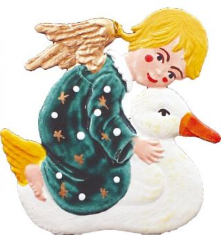 Angel with Duck