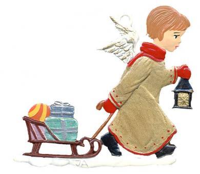 Angel Pulling Sled