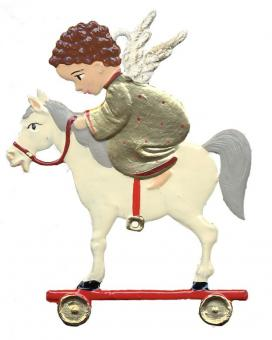 Angel on Toy Horse