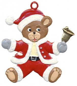 Anhänger: Weihnachtsteddy
