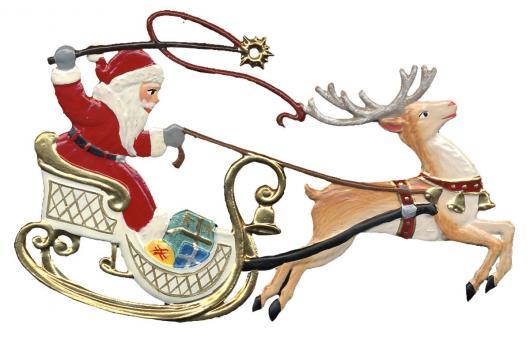 Santa in Sleigh I