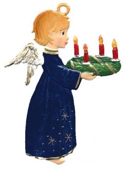 Angel with Advent Wreath