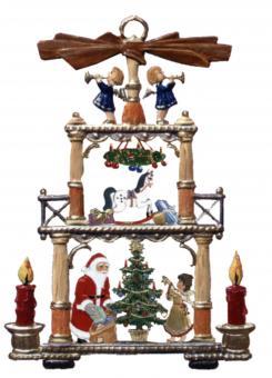 Anhänger: Weihnachtspyramide