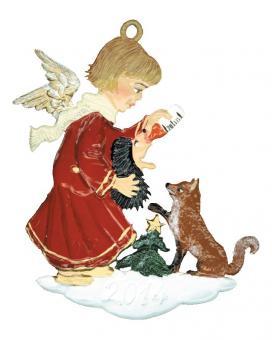 Anhänger: Engel füttert die Tiere