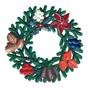 Ornament: Winter Wreath, small