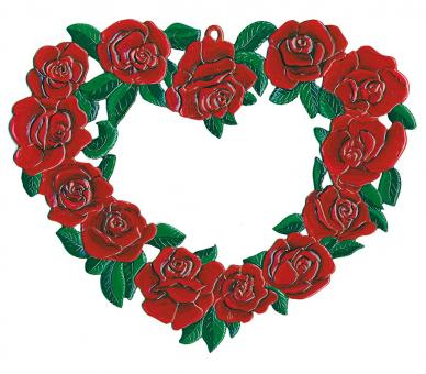 Ornament: Rose Wreath, large