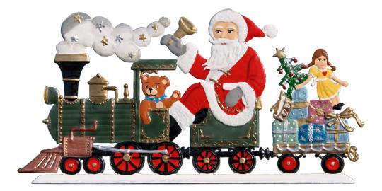 Santa Claus with Locomotive