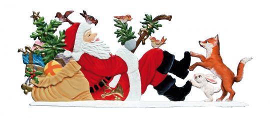 Der Weihnachtsmann macht eine Pause