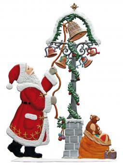 Sounds of Christmas - Santa at Christmas Bells Tower -Chimes-