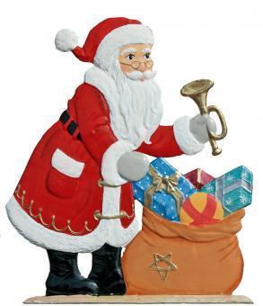Der Weihnachtsmann mit dem Gabensack