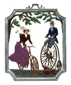 Wall Picture: Penny-Farthing / Bicycling