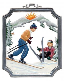 Wall Picture: Skier