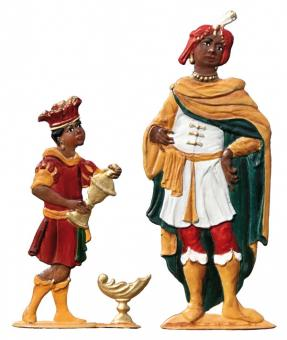 King Balthasar and Servant