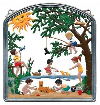 Wandbild: Sommerfreuden -Kindermotive-