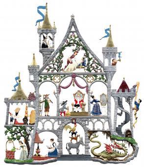 Wandbild: Märchenschloss, groß