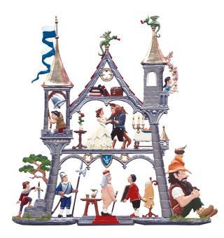 Wandbild: Kleines Märchenschloss