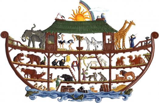 Wandbild: Arche Noah