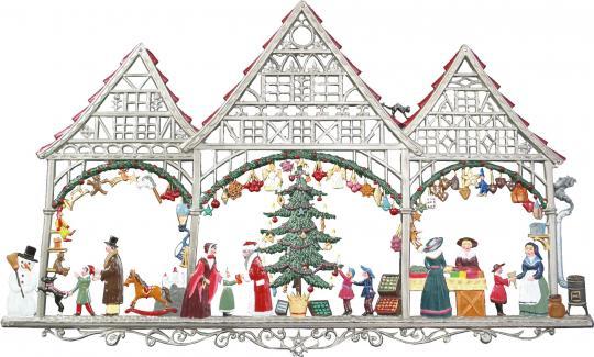 Wandbild: Weihnachtsmarkt