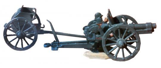 Gun 7.7 cm FK 96 n.A., Feldkanone M 96 NA (neue Art),  77mm