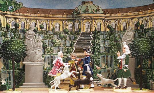 Klein-Diorama: Potsdam Sanssouci