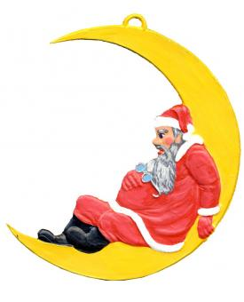 Santa Claus on the Moon