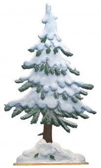 Fir Tree Snow Covered