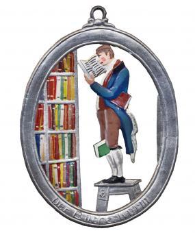 Anhänger: Der Bücherwurm