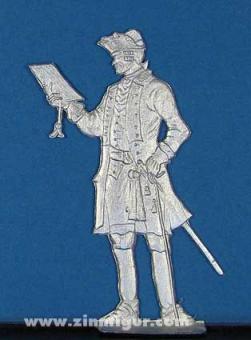 Preußischer Infanterie-Offizier um 1750