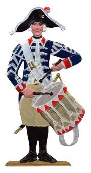 Preußischer Infanterie-Trommler, um 1780