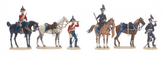 Brunswick Hussars in Spain 1810-13 / Heavy Dragoons KGL in Spain 1812-14