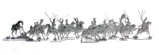 Russische Kürassiere im Angriff - 1812-13