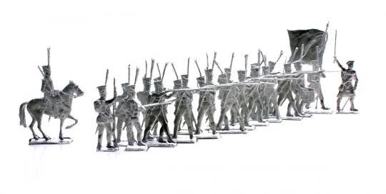 Russische Infanterie Feuernd - 1812-13