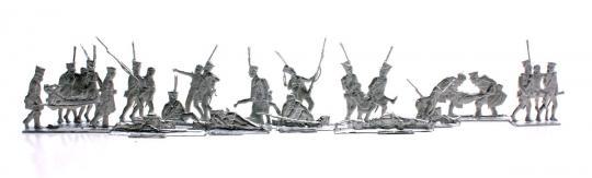 Russische Infanterie: Verwundete und Gefallene - 1812-13