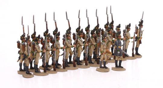 Grenadiere in Reserve