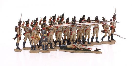 Grenadiere feuernd