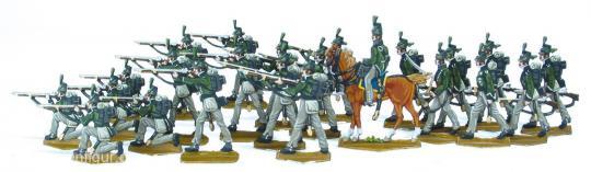 95th Rifles im Feuer