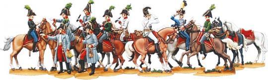 Generalstab zu Pferd