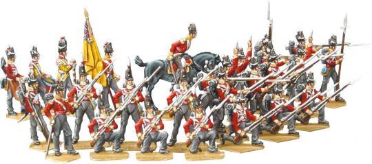 Infanterie im Karree