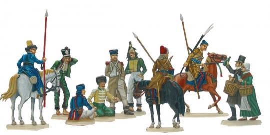 Gefangene Franzosen 1812