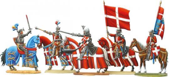 Johanniter in der Schlacht bei Nicopolis, Teil 2: Kriegsherren