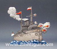 Schlachtschiff / Kanonenboot