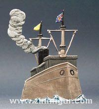 Schlachtschiff, Kanonenboot